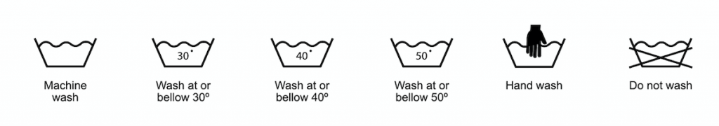 The Washing Symbols on Your Clothes Explained: A Simple Guide - The Ironing  Lady Ltd
